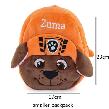 Kids Bags For Girls Cute Plush Dog Backpacks