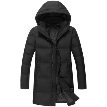 New Brand Russia Winter Men Casual 90%White Duck Down Jacket Men's Down Jackets.