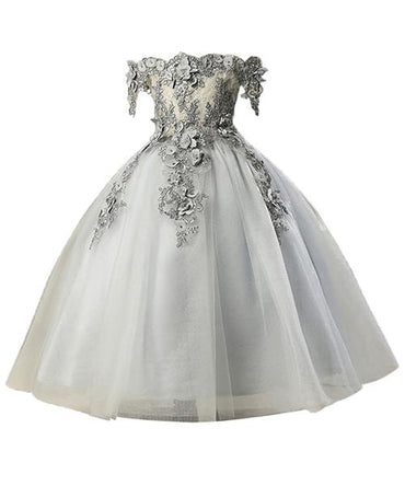For Girls First Communion Dresses Kids Prom Dresses