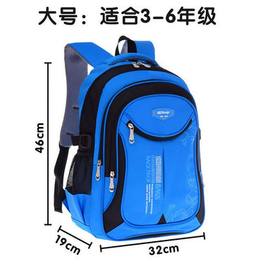 Waterproof children school bags For Boys&Girls kids backpacks