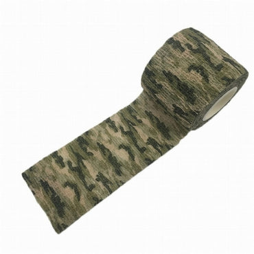 Multi-functional Camo Tape Non-woven Self-adhesive Camouflage Hunting Paintball Airsoft Rifle.