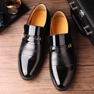 Summer Men Microfiber Leather Quality Shoes