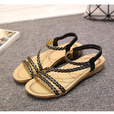 Summer women shoes woman Flip Flops Ladies Flat Sandals