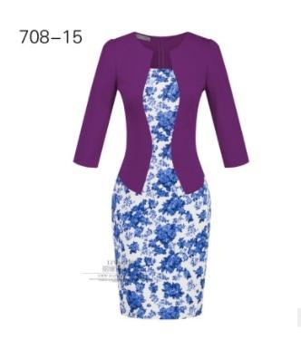 New Arrival Business Office Work Long Sleeve Knee Blazer Suits.
