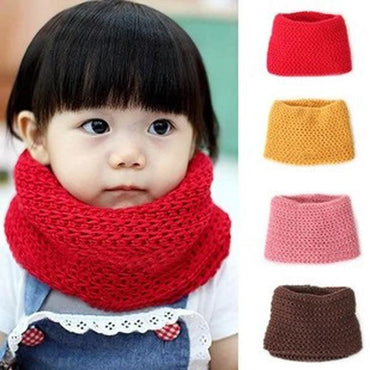 Soft Girls Knitted O Ring  Scarves