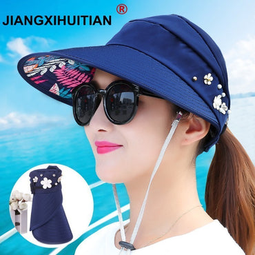 New women summer beach Sun Hats