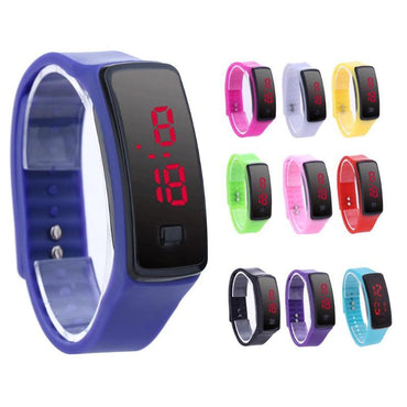 New Fashion LED Bracelet Digital Ladies Watches