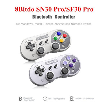 Pro Bluetooth Gamepad Wireless Game Controller with Joystick for Windows Android Steam Nintendo Switch