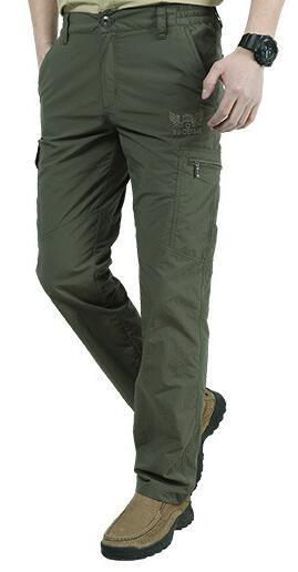 Quick Dry Casual Men Summer Army Military thin Trousers Mens Tactical Cargo Pants.
