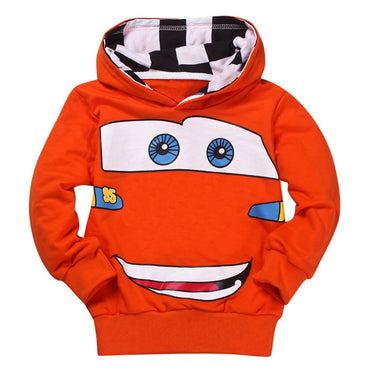 Cheaper Fashion Boys Girls Cartoon Printed Spring Autumn Sport Hoodies.