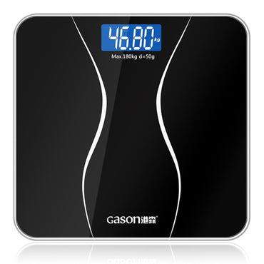 GASON A2 Bathroom Floor Body Scale Glass Smart Household Electronic Digital Weight
