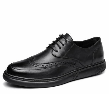 Wedding Leather  Retro Brogue Dress Formal Shoes