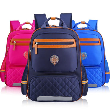 Waterproof Nylon School Bag For Girls Boys Children Backpack