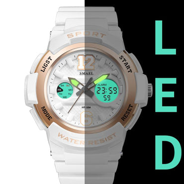 LED White  Watches for Women
