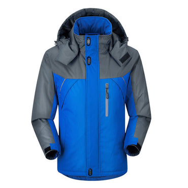 Winter Down Jacket Men Parkas thermal Velvet jacket coat.