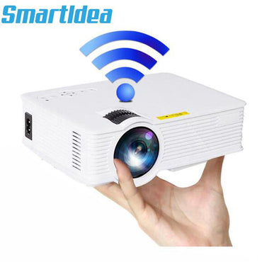 Newest S90 S90wifi Mini LED Home Cinema Projector Android 1800lumens Multimedia LCD Proyector