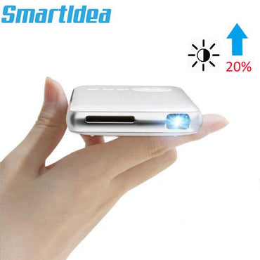 Android 7.1.2 5000mAh Battery Handheld Mini LED Projector