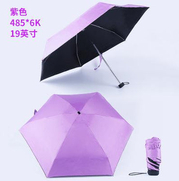 Male Mini Pocket Parasol Fashion Folding Rain Umbrella