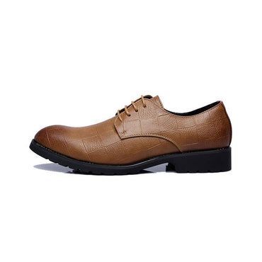 Leather Brogue Men's  Casual British Style Formal Shoes