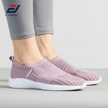 Women Sneakers Running Shoes For Woman Outdoor Sports Slip-on Summer Walking Shoe.