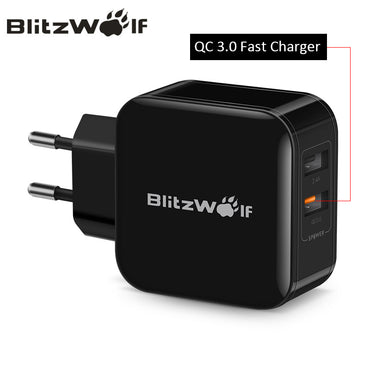 Dual USB Charger Mobile Phone Fast Charger EU Adapter Travel Wall Charger