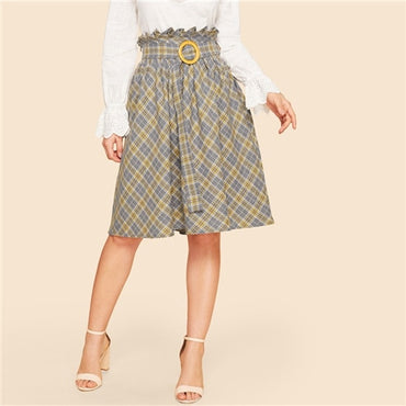 Casual High Waist Women Skirts