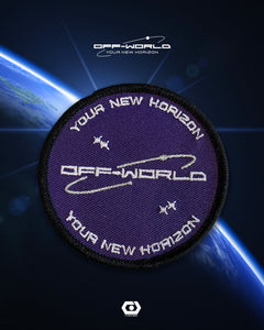 OFF-WORLD MISSION PATCH