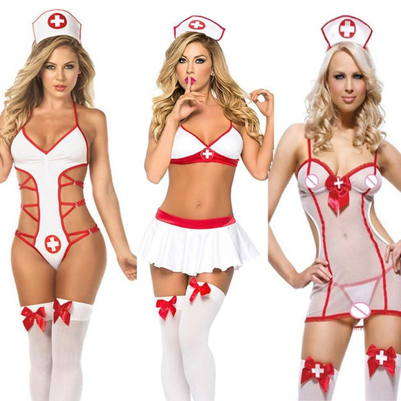 Women's Sexy Lingerie  Nurse Costume