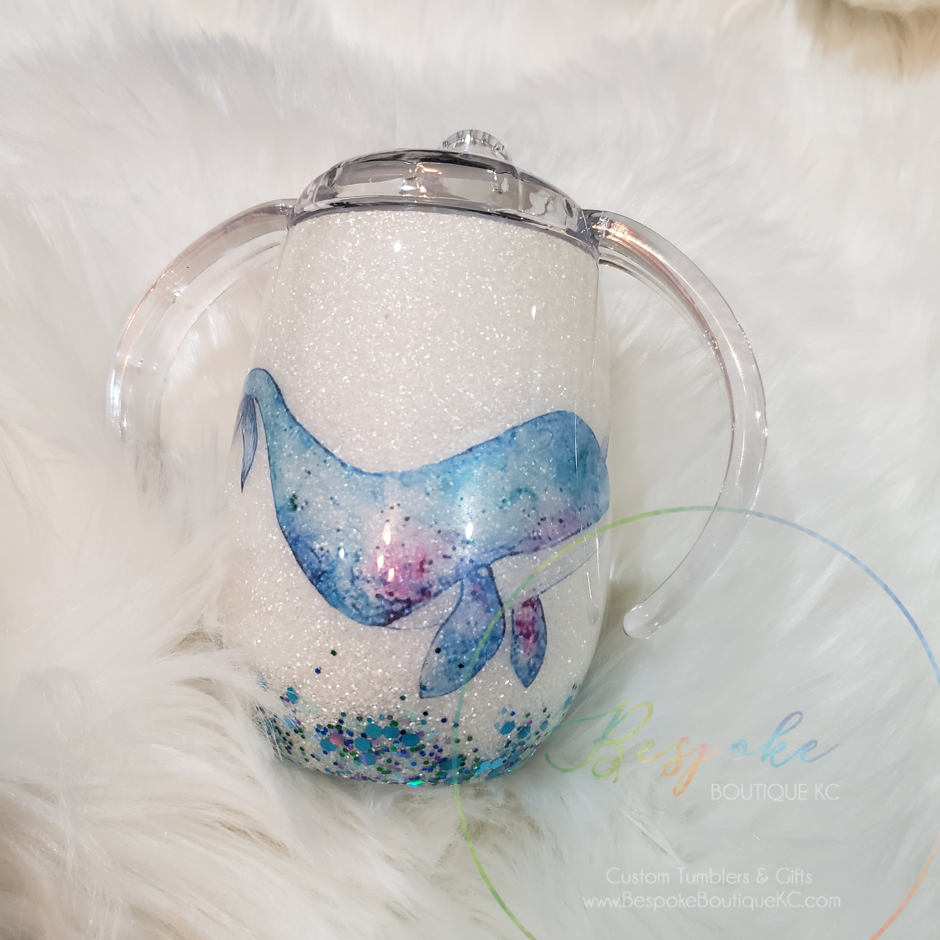 8 oz Narwhal Sippy Cup