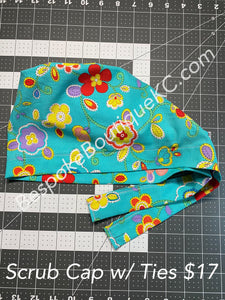 Washable Scrub Cap