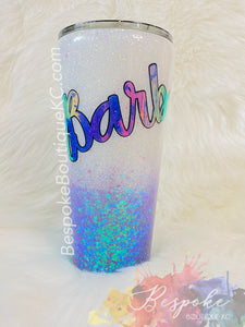 Ombré Tumbler with Phrase or Quote