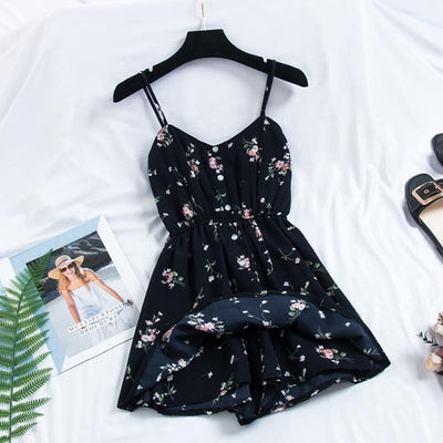 Floral Summer Dress - BeautyCoves