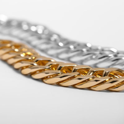 Gold Statement Bracelet - BeautyCoves
