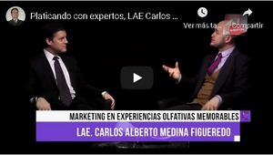 Platicando con expertos, Marketing Olfativo Puro Sentido