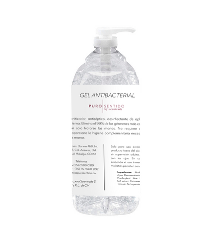 Gel Antibacterial Puro Sentido 500ml