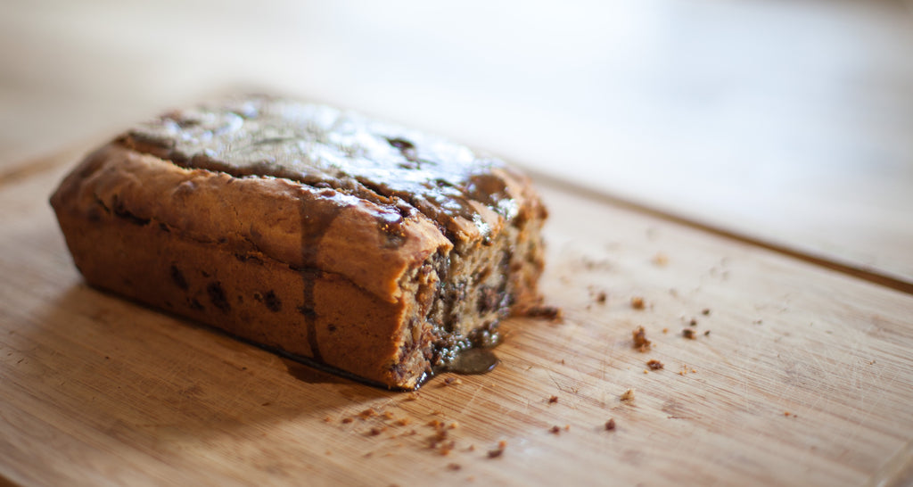 Plant-based Hojicha Banana Bread