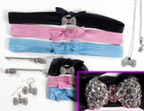 BOW Clear/Lt Rose Stone: &