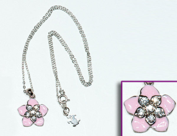 FLOWER Pink Hawaiian: Necklace