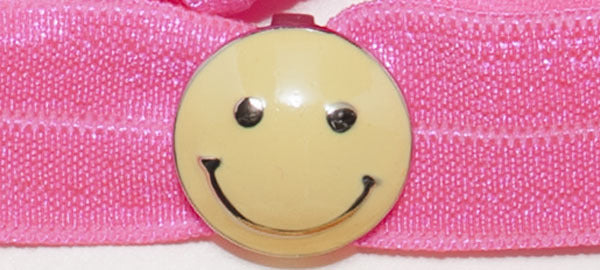 SMILEY FACE Yellow: Headband Sets