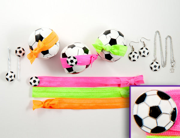 SOCCER BALL Black/White: &