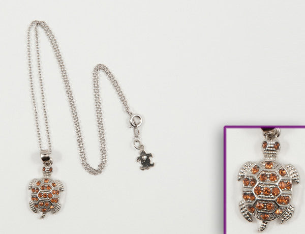 TURTLE Topaz Stone: Necklace