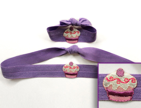 CUP CAKE APPLIQUE: Single or 2-Pack FLEXYs®