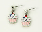 CUPCAKE Pink: Earrings