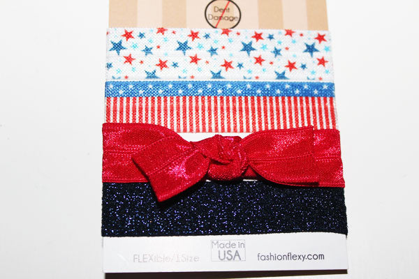STARS 4: Red White & Blue FLEXY® 4-Pack