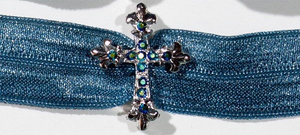 CROSS Blue Jet Stone: Headband Sets