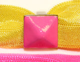 STUDS NEON: Hair Tie w/ Headband 6-Packs