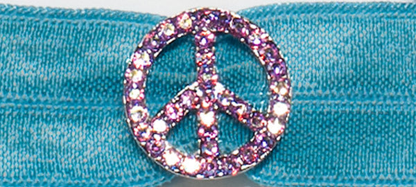 PEACE SIGN Light Rose: Headband Sets