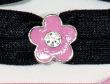 FLOWER Pink 5-Petal: Hair Tie w/ Headband 6-Packs