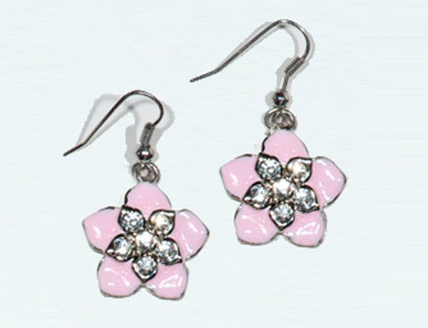 FLOWER Pink Hawaiian: Earrings