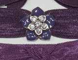 FLOWER Purple Hawaiian: Hair Tie/Bracelet Sets